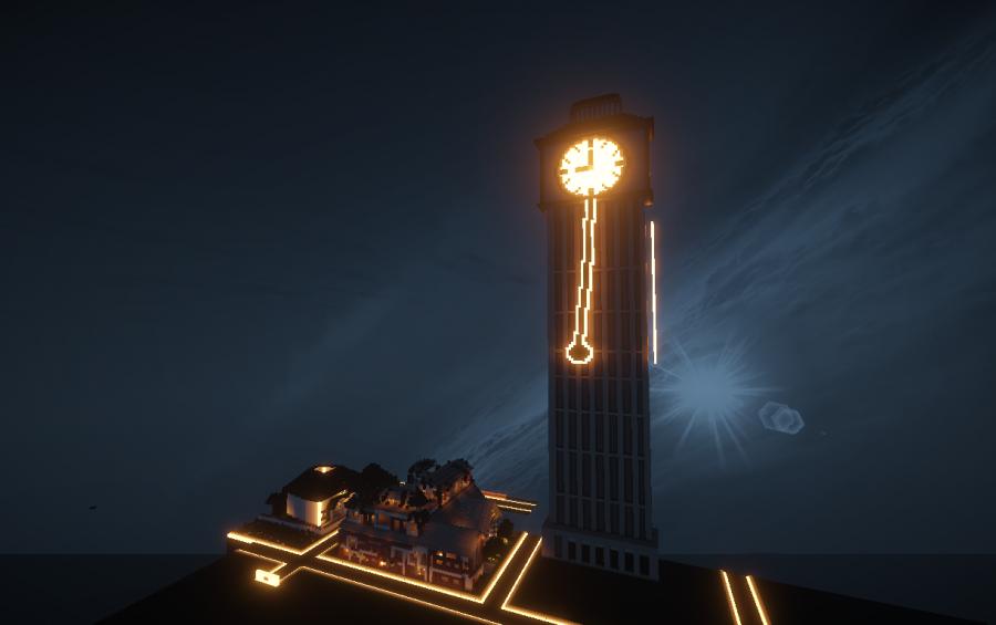 Sky Clock Tower, creation #4159
