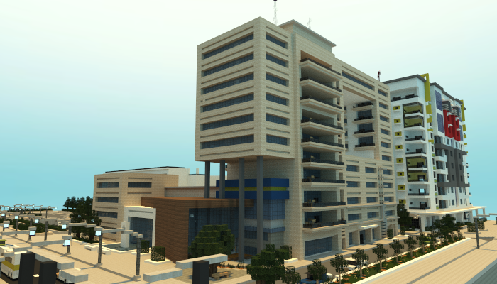 Modern Apartment Building Creation 4720