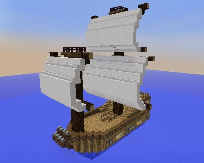 Small Boat 1, creation #488 on small boats mod minecraft, small minecraft village, small minecraft ship plans, small minecraft yacht tutorial,