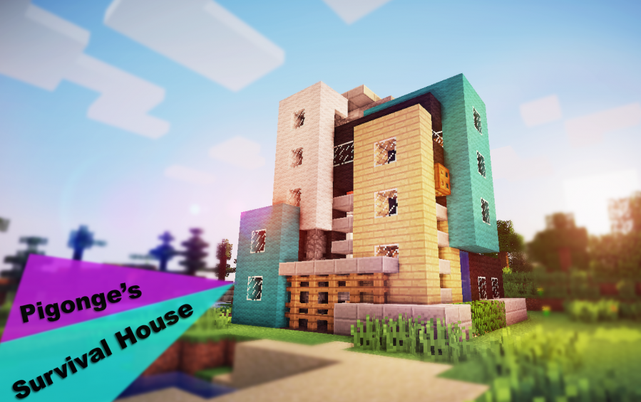 Cool Minecraft Survival House Designs