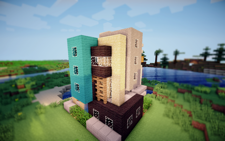 Contemporary Survival Starter House. Contemporary Survival Starter House  creation  547
