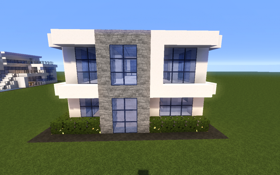 Simple houses joy studio design gallery best design for Minecraft big modern house schematic