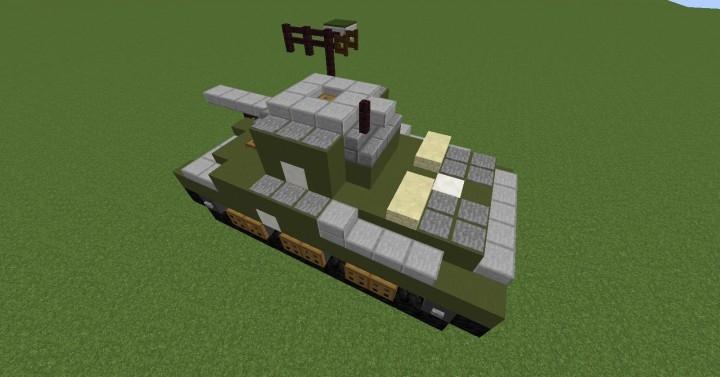Tank Sherman M4A1 creation #7146