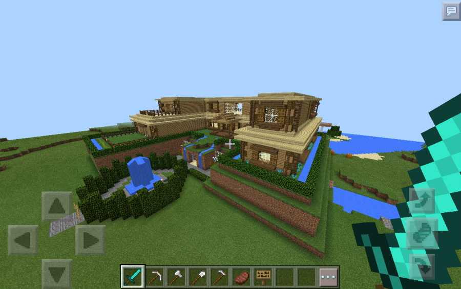 Casa Rustica Moderna, creation #7509
