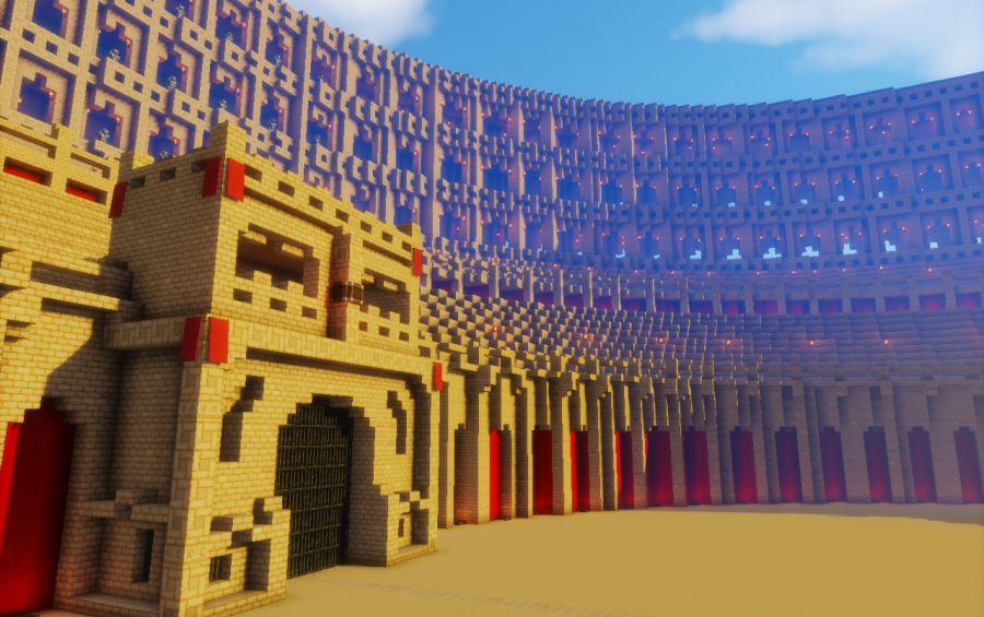 The Colosseum, creation #7954