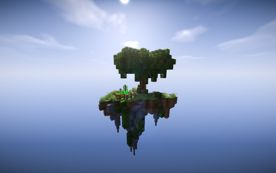SkyBlock Starter Island - Schematic, creation #9558