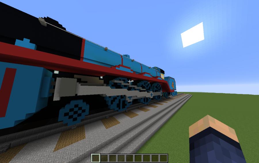 gordon the tank engine 4 blue creation 9952